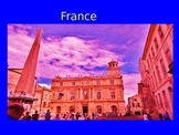 France Powerpoint and Activities