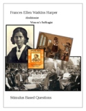 Frances Ellen Watkins Harper; Abolitionist and Women's Suf