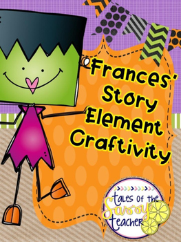 Frances Frankenstein Story Element Lapbook