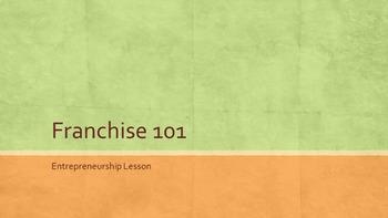 Franchise 101 Lesson