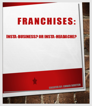 Franchise Research Project