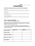 Franchise Worksheet