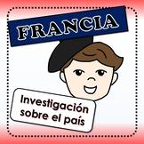 Francia - actividades para investigar sobre el país