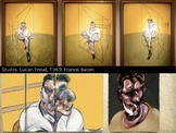Francis Bacon Art SHOW + TEST = 176 Slides - Modern Art