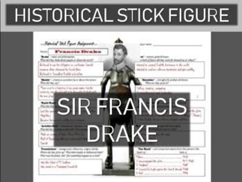 Francis Drake Historical Stick Figure (Mini-biography)