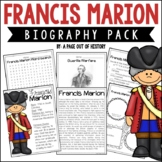 Francis Marion Biography Pack (Revolutionary Americans)