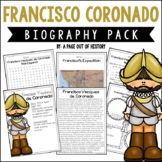 Francisco Coronado Biography Pack (New World Explorers)