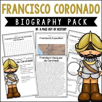 Francisco Coronado Biography Pack (New World Explorers)