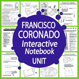 Francisco Coronado Spanish Explorer Interactive Notebook Unit
