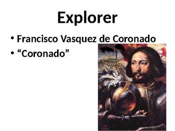 Francisco Coronado Powerpoint