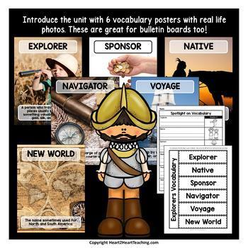 Francisco Coronado Unit with Articles, Activities & Flip Book