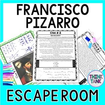 Francisco Pizarro ESCAPE ROOM:  Explorer - Inca Empire