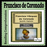 Francisco de Coronado Reading Comprehension