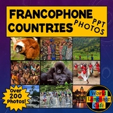 Francophone Countries PowerPoint, Photos, Facts, French Cl