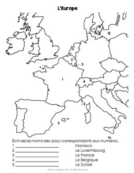 Francophone Countries: Map Quiz and Practice for French Speaking Countries
