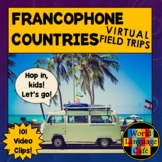 French Distance Learning, Francophone French Speaking Countries Video Clips