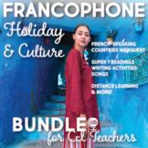 Francophone Culture Bundle for Comprehensible Input Teachers