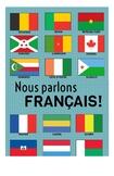 Francophone Flag Poster - Les Pays Francophones!