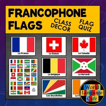 Francophone Flags for French Speaking Countries, Francophone Countries