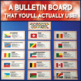 Francophone French-Speaking Countries Desk and Bulletin Board Labels