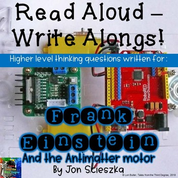 Frank Einstein and the Antimatter Motor Read Aloud Write Along