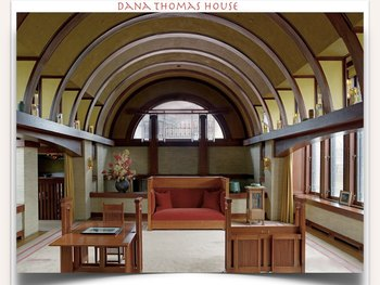 Frank Lloyd Wright SHOW + TEST = 202 Slides ARCHITECT USA structure by structure
