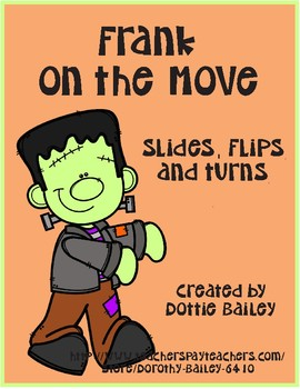 Frank On the Move - Slides, Flips, Turns - Math Center