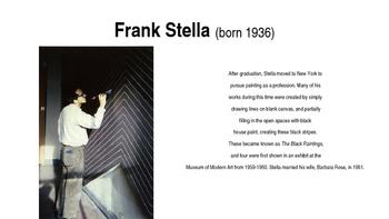 Frank Stella PPT, 5-12