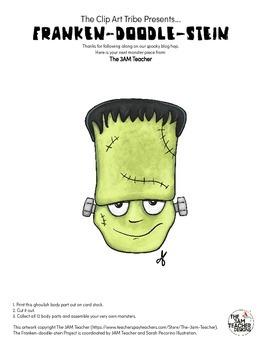 Franken-Doodle-Stein Poster : Piece #1