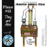 Franken-Doodle-Stein Poster: Piece #12