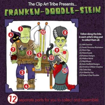 Franken-Doodle-Stein Poster : Piece #5