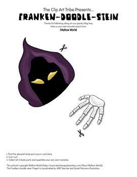 Franken-Doodle-Stein Poster : Piece #6