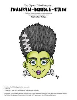 Franken-Doodle-Stein Poster : Piece #8