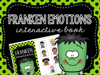 Franken Emotions Interactive Book