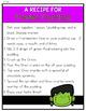 Franken Pudding Recipe- Halloween Snack- Freebie