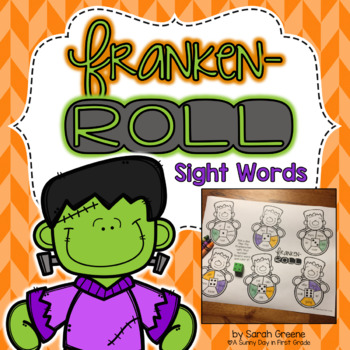 Franken-Roll! {sight words}