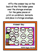 "Franken""Time"" Time to the Hour File Folder Game"