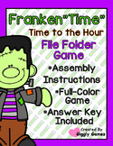 "Franken""Time"" Time to the Hour File Folder Game"