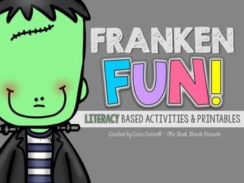 FrankenFUN LITERACY Activities, Games, & Printables