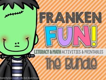 FrankenFUN Math & Literacy Bundle