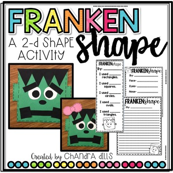 FrankenSHAPE: A Shape Craftivity!