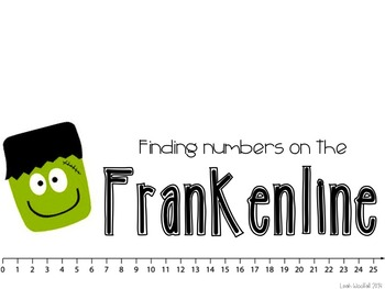 FrankenLine- A Frankenstein math craftivity