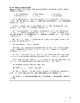 Frankenstein (1831 version) Test and ANSWER KEY
