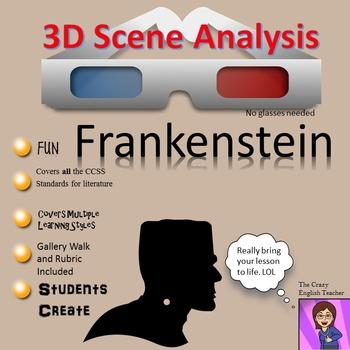 Frankenstein: 3D Scene Analysis Project Diorama: Standards Based