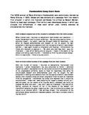 Frankenstein AP Lit Simulated Prose Analysis Prompt