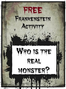 Frankenstein Activity