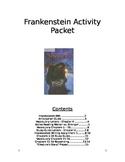 Frankenstein Activity Packet