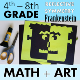 Frankenstein Faces - An Art Lesson on Reflective Symmetry
