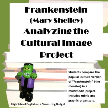 Frankenstein Analyzing the Cultural Image Project (Mary Shelley)