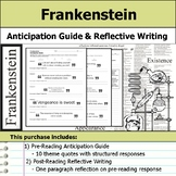 Frankenstein - Anticipation Guide & Reflection